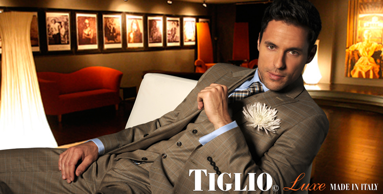 Tiglio suits for men
