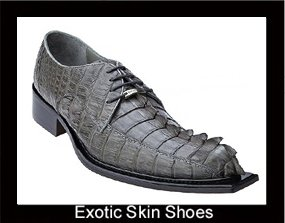exotic skin shoes