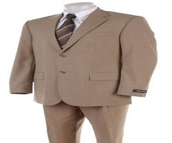 Tan color suits