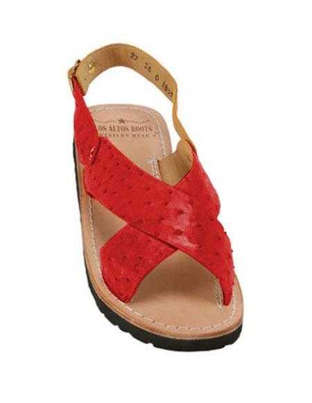 Alligator Exotic Skin Sandals