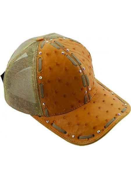 Beige-Color-Alligator-Skin-Cap-28506.jpg
