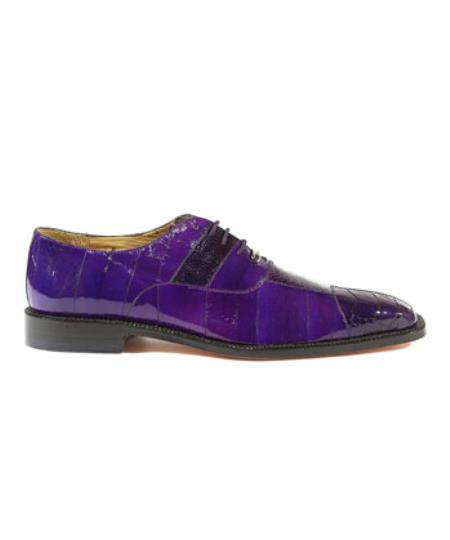 Belvedere Mare Oxford Shoes Purple