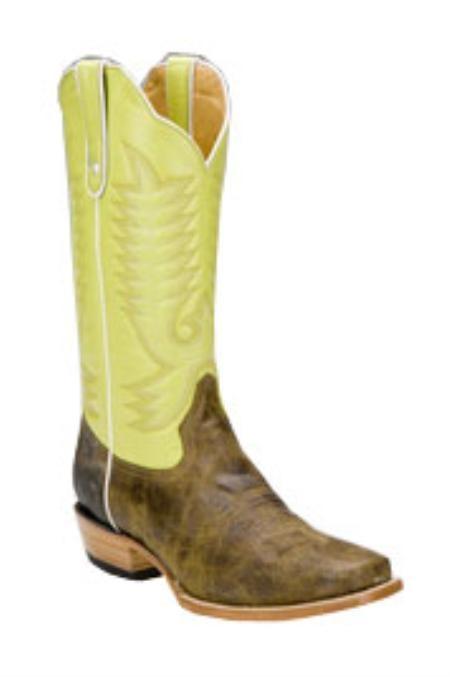 Bison-Skin-Lime-Color-Boots-4654.jpg