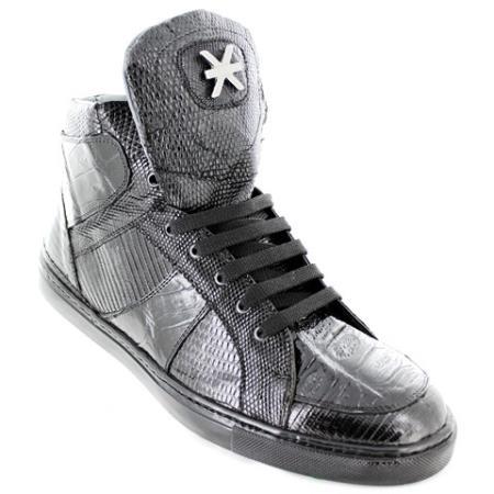 Black-Gator-Skin-Casual-Shoes-19252.jpg