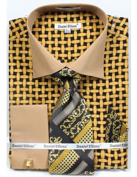 Black-Mustard-Net-Pattern-Shirt-32380.jpg