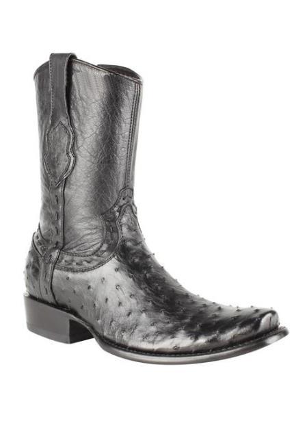 Black-Ostrich-Skin-Leather-Boots-32417.jpg