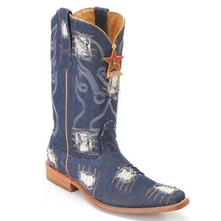 Blue Jean XXX 3X Toe Denim Boot