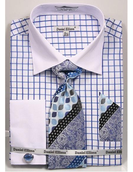 Blue-Checked-Pattern-Dress-Shirt-32395.jpg