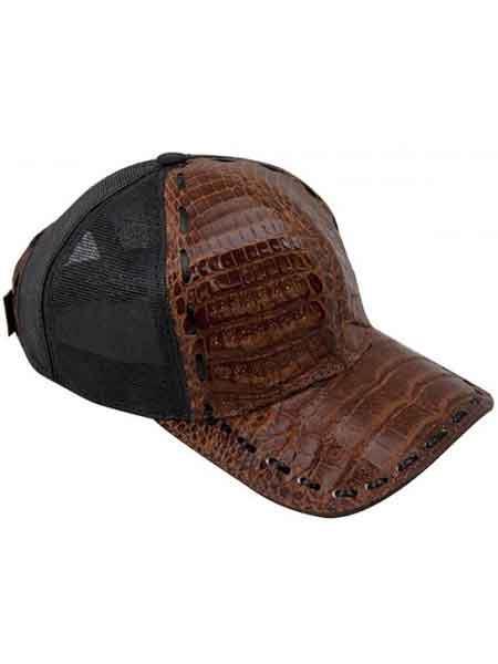 Brown-Black-Alligator-Skin-Cap-28497.jpg
