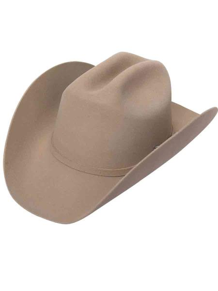 ID#PN_M67 Lana Camel ~ Khaki Coco Chocolate brown Western Hats