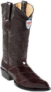 Wild West Coco Chocolate brown Eel Western Dress Cowboy Boot Cheap Priced For Sale Online