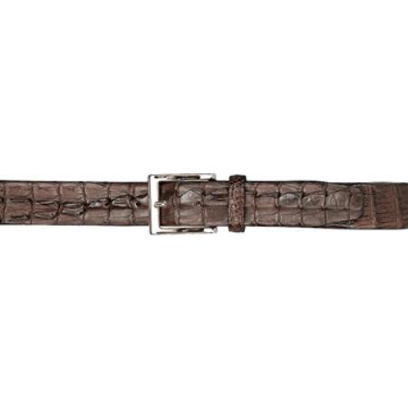 Chocolate Coco Chocolate brown Hornback Belt