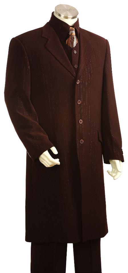 Brown-Long-length-Zoot-Suit