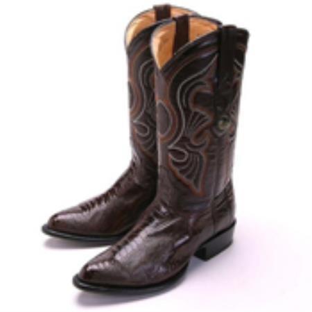Brown-Ostrich-Skin-Boot-13246.jpg