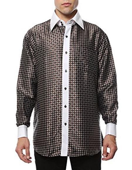 Brown-White-Shiny-Dress-Shirt-31633.jpg