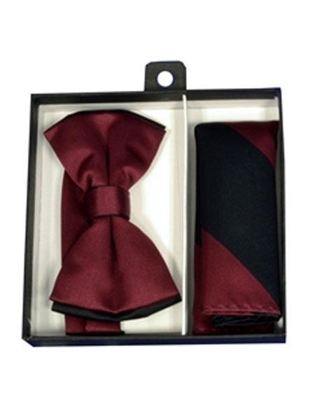 Burgundy-Black-Polyester-Bowtie-Hankie-36207.jpg