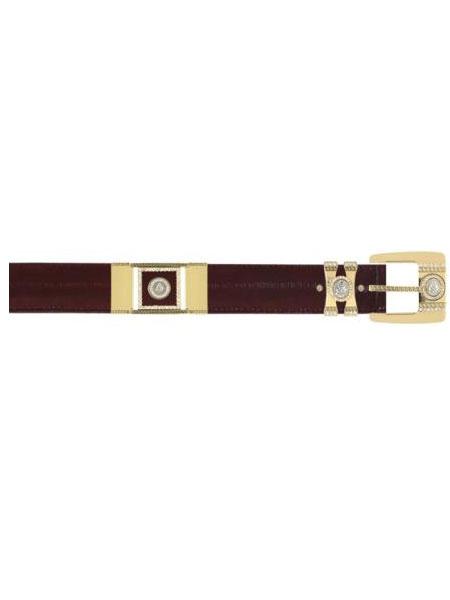Burgundy-Color-Eel-Skin-Belt-13489.jpg
