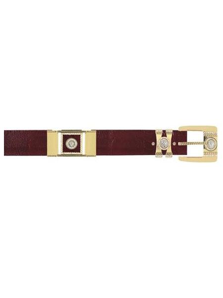 Burgundy-Color-Ostrich-Skin-Belt-13492.jpg