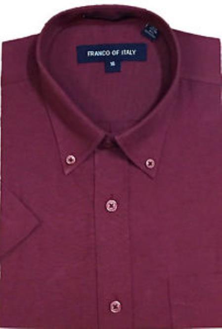 Burgundy-Color-Short-Sleeve-Shirt-27264.jpg