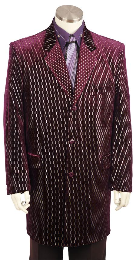 Burgundy-Color-Velvet-Suit