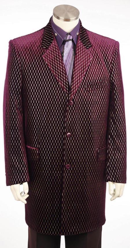 Burgundy-Color-Zoot-Suit