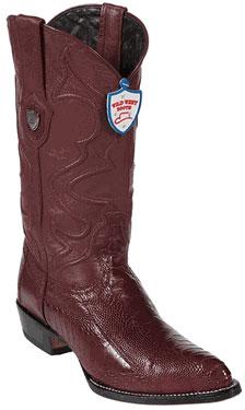 Burgundy-Ostrich-Skin-Western-Boots-15490.jpg