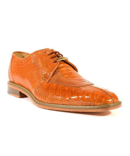 Belvedere Shoes Oxford Siena Burned Amber