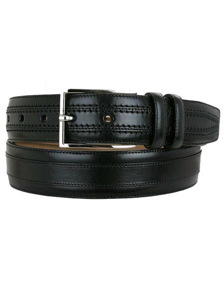 Calfskin-Handmade-Black-Skin-Belt-39274.jpg