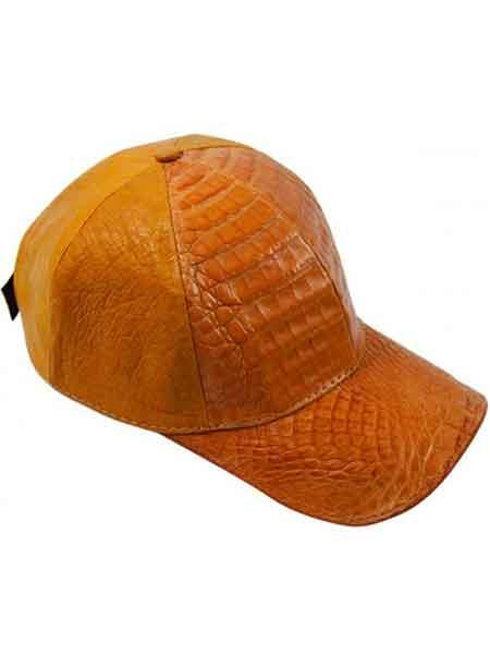 Copper-Color-Alligator-Skin-Cap-28499.jpg
