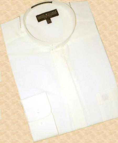 Cream-Banded-Collar-Cotton-Shirt-21609.jpg