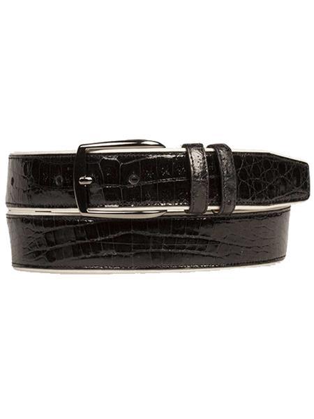 Crocodile-Calfskin-Black-Skin-Belt-39267.jpg