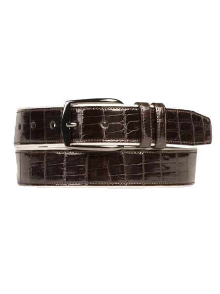 Crocodile-Calfskin-Brown-Skin-Belt-39276.jpg