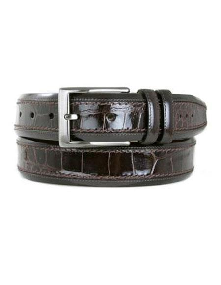 Crocodile-Handmade-Brown-Skin-Belt-35182.jpg