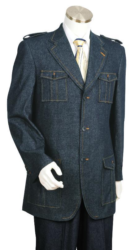 Blue Fashion Zoot Denim