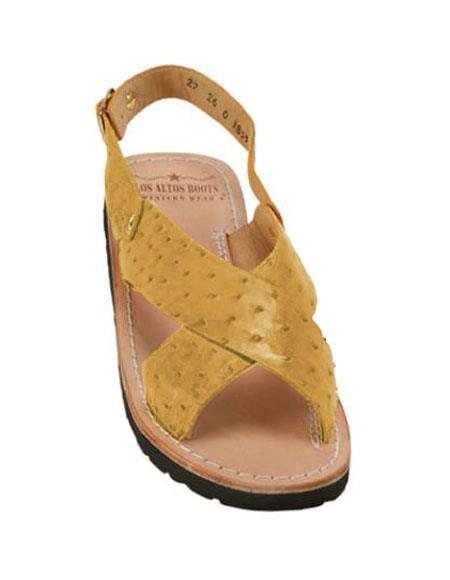 Exotic Skin Saddle Sandals