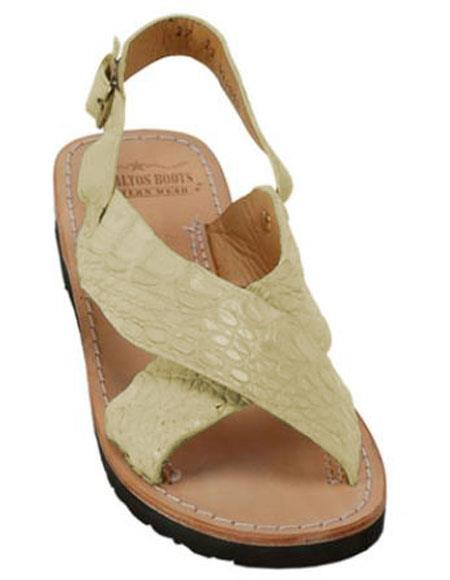 Exotic Skin Stone Color Sandals
