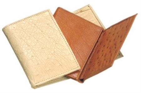 Ferrini Genuine Smooth Ostrich Wallets