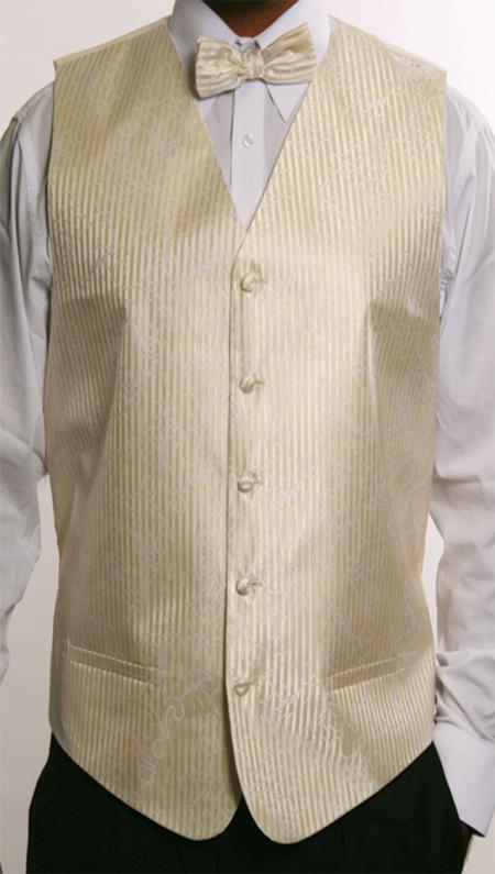 Button Beige Vest