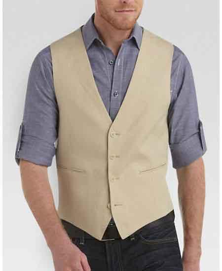 Four-Button-Tan-Linen-Vest-39531.jpg