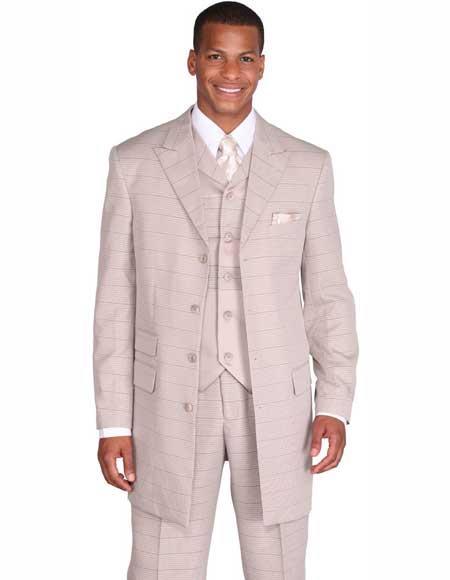 Four-Button-Taupe-Color-Suit