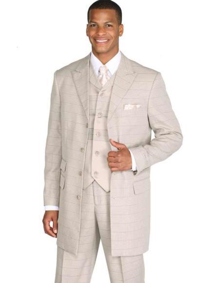 Four-Button-Taupe-Color-Suit-30501