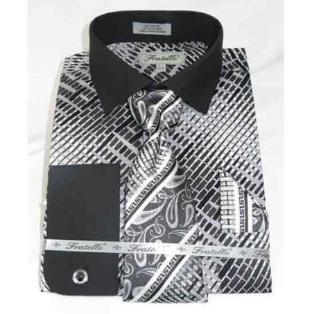 French-Cuff-Black-Cotton-Shirt-28258.jpg