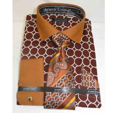 French-Cuff-Brown-Cotton-Shirt-28272.jpg