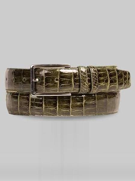 Genuine-Crocodile-Olive-Skin-Belt-39208.jpg