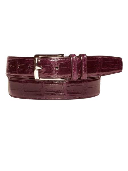 Handmade-Burgundy-Alligator-Calfskin-Belt-39184.jpg