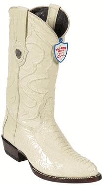 Wild West Cream ~ Ivory ~ Off White Ostrich Leg Botas De Avestruz Western Dress Cowboy Boot Cheap Priced For Sale Online