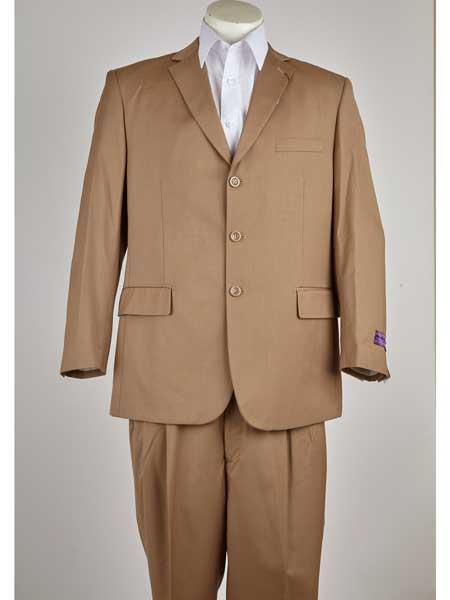 Khaki-Color-Three-Buttons-Suit-27210.jpg
