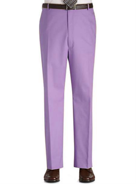 Lavender-Color-Flat-Front-Slacks-12650.jpg