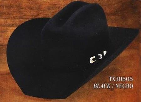 Western hat tejanas Texas Style 4X Felt By Los altos Dark co cfdd9832dbff