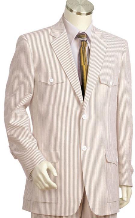 Seersucker Suit Men White Two Piece Tuxedo Suit Pinstripe $ 79 WULFUL. Men's Suit One Button Slim Fit 2 Piece Suit for Men Casual/Formal/Wedding Party/Tuxedo $ 69 99 Prime. out of 5 stars 3. Brightmenyouth. Pinstripe Seersucker Vest Designs Mens Prom Suits Waistcoat Slim Men Suit Vest Wedding Vests for Men.